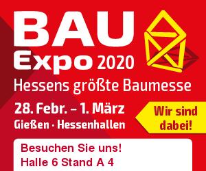 BAUExpo 2020 in Gießen